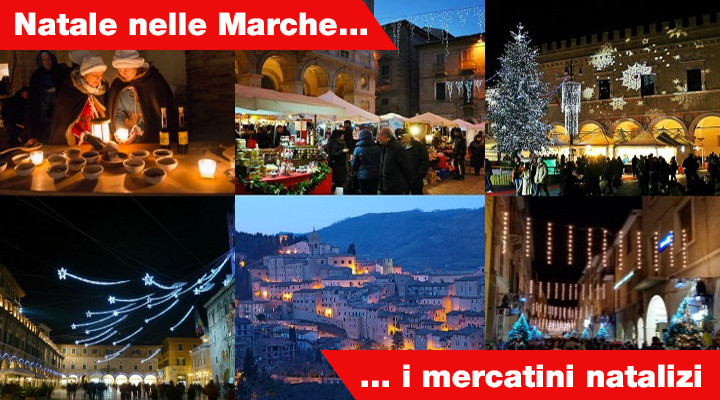 Christmas markets in the Marches