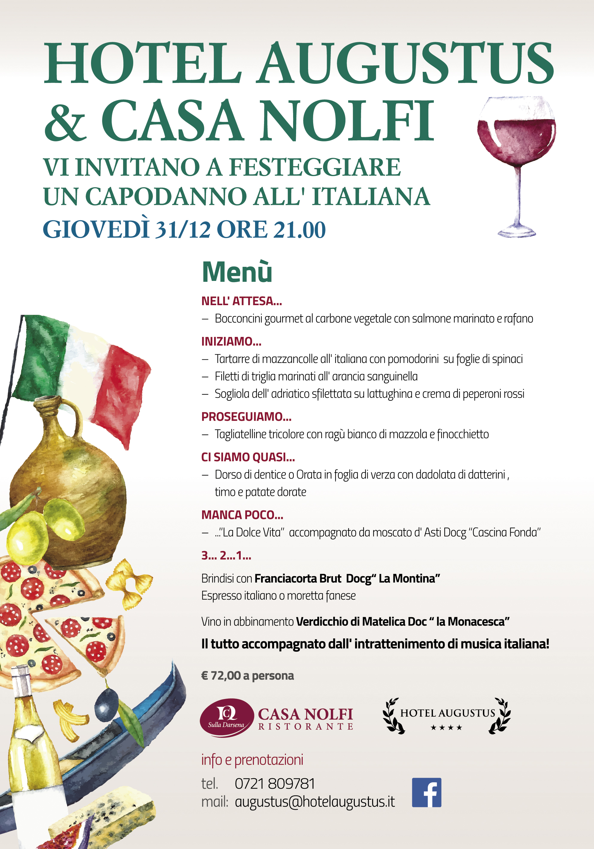 Capodanno all'italiana a Fano!