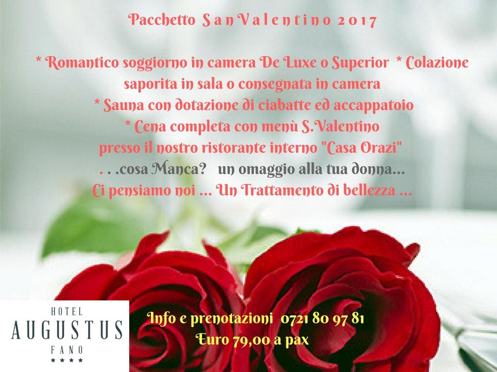Pacchetto San Valentino 2017 a Fano