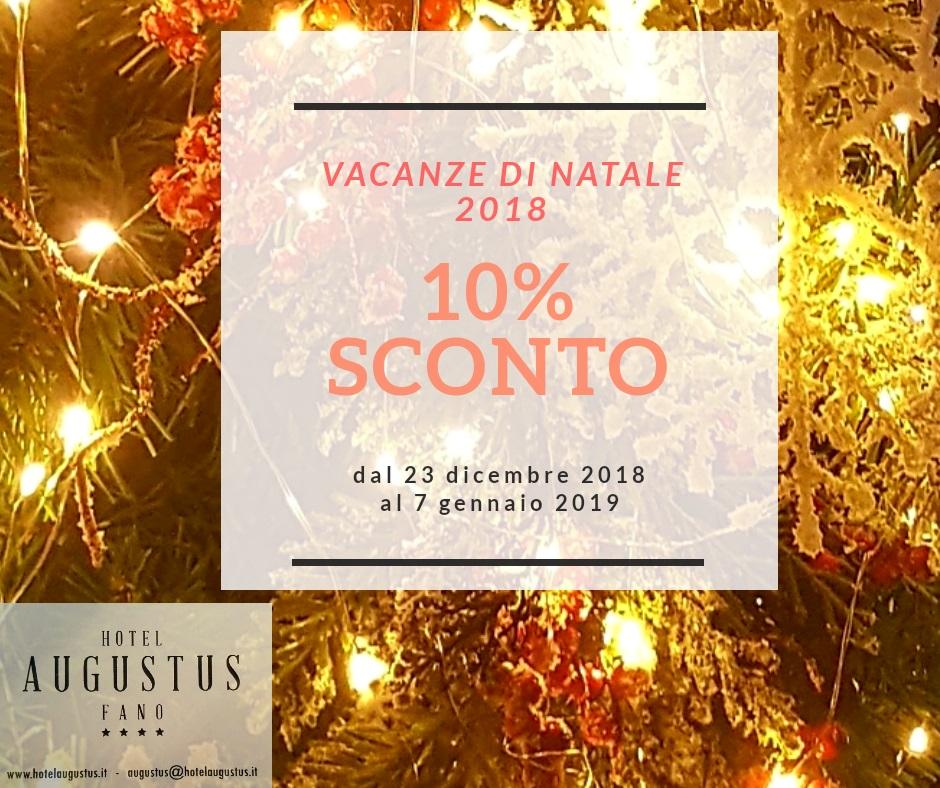 Vacanze di Natale a Fano
